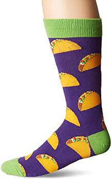 Fun taco socks